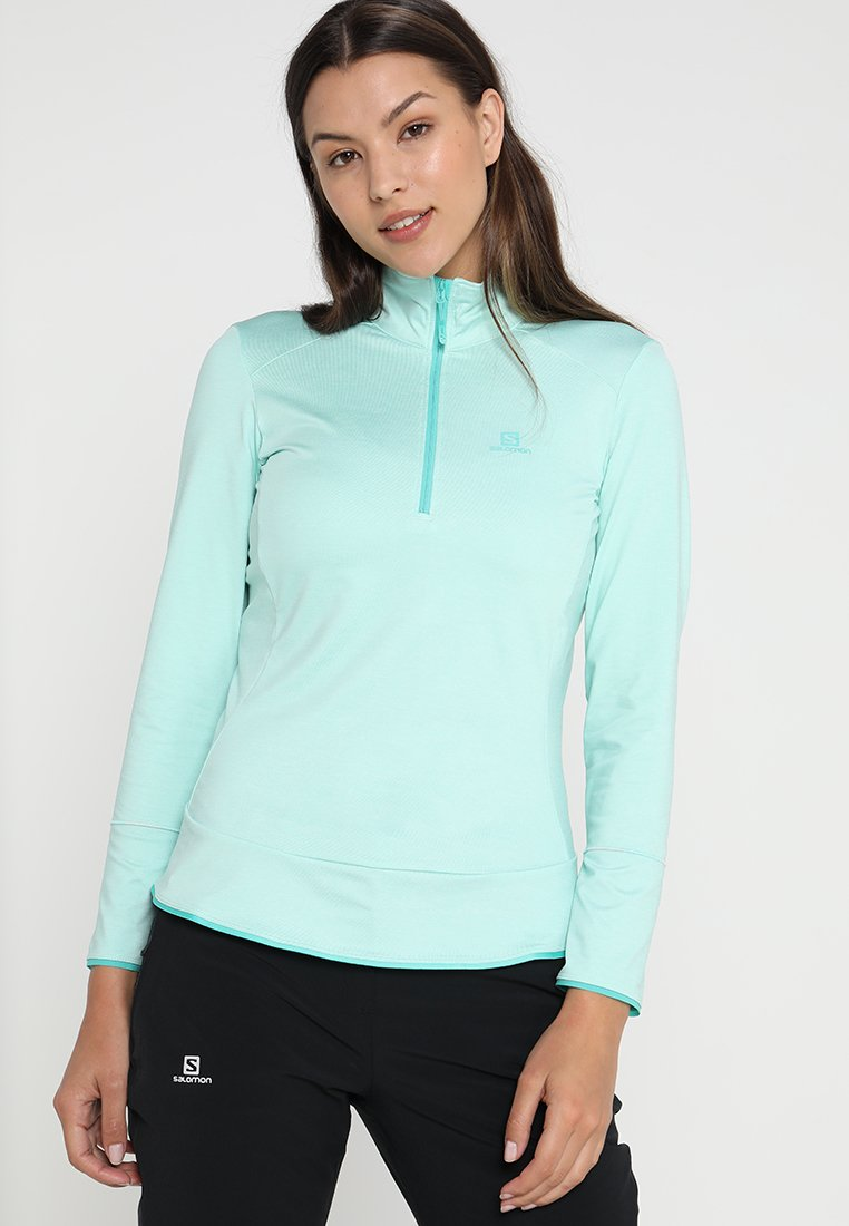 Salomon - DISCOVERY - Sports shirt - yucca heather