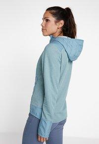 Salomon - RIGHT NICE HYBRID HOODIE - Outdoor jacket - smoke blue - 2