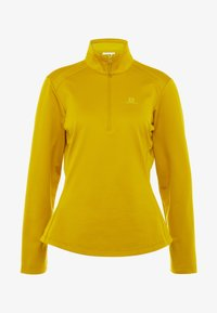 Salomon - DISCOVERY - Fleece trui - golden palm - 4