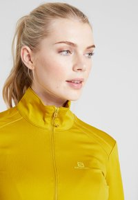Salomon - DISCOVERY - Fleece trui - golden palm - 3