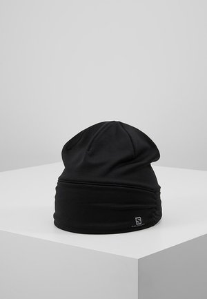 ELEVATE WARM BEANIE - Gorro - black heather