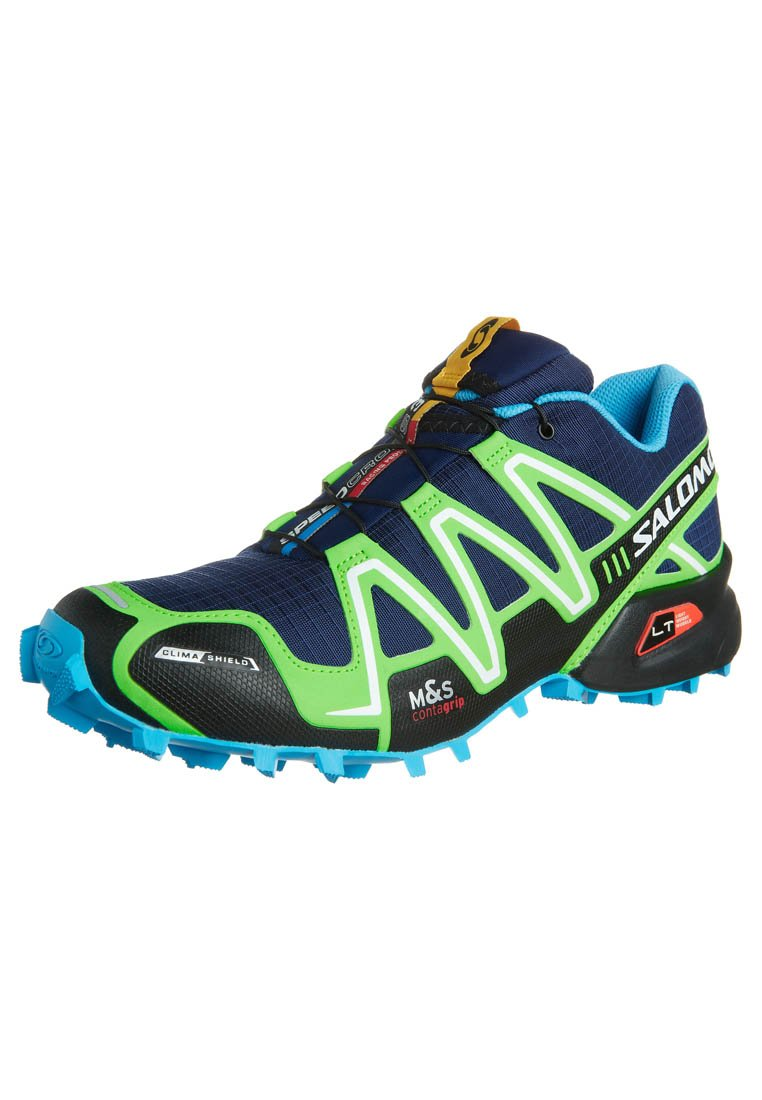 Salomon SPEEDCROSS 3 CS Trail hardloopschoenen blaugrün