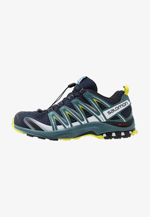 XA PRO 3D - Běžecké boty do terénu - navy blazer/hydro/evening primrose