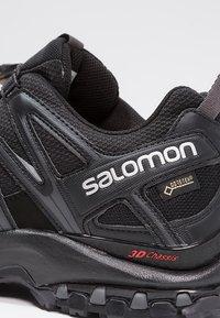 Salomon - XA PRO 3D GTX - Trail running shoes - black/magnet - 5