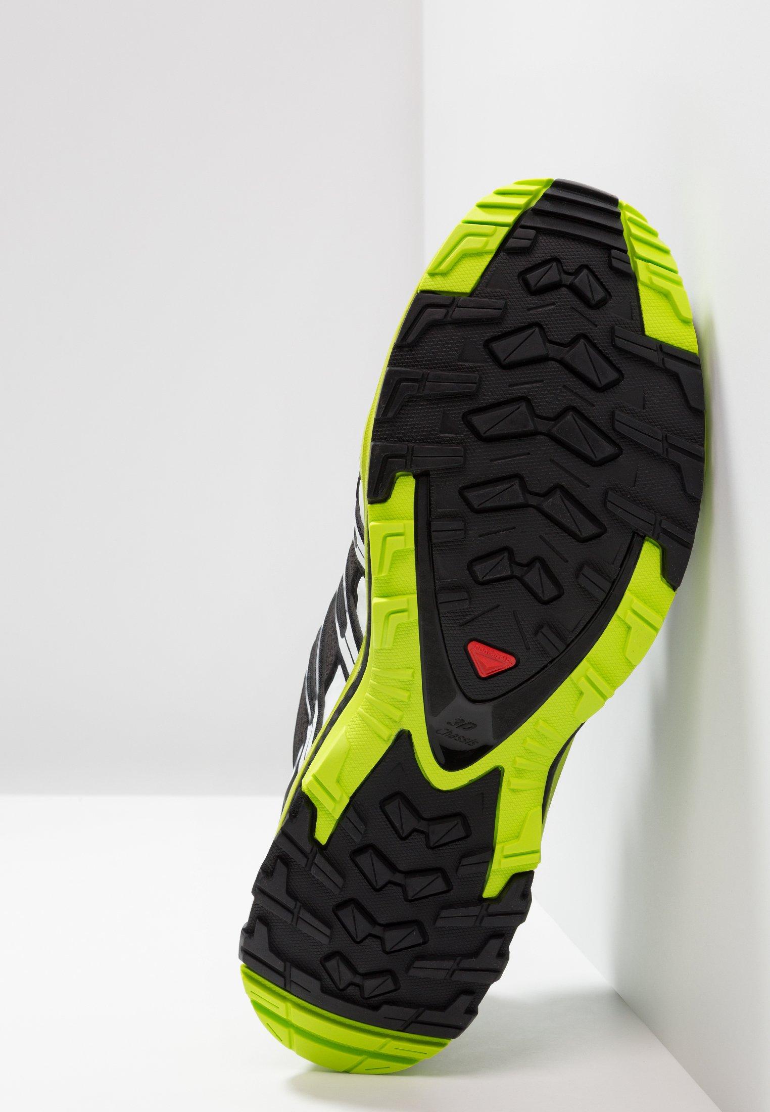 Salomon - XA PRO 3D GTX - Laufschuh Trail - black/lime green/white