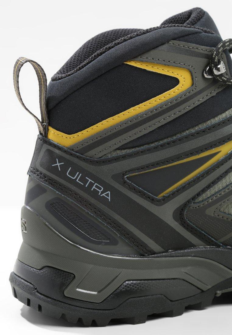 X ULTRA 3 MID GTX Hikingskor castor grayblackgreen sulphur