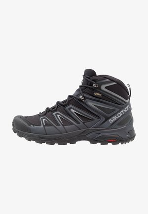 X ULTRA 3 MID GTX - Obuwie hikingowe - black/india ink/monument
