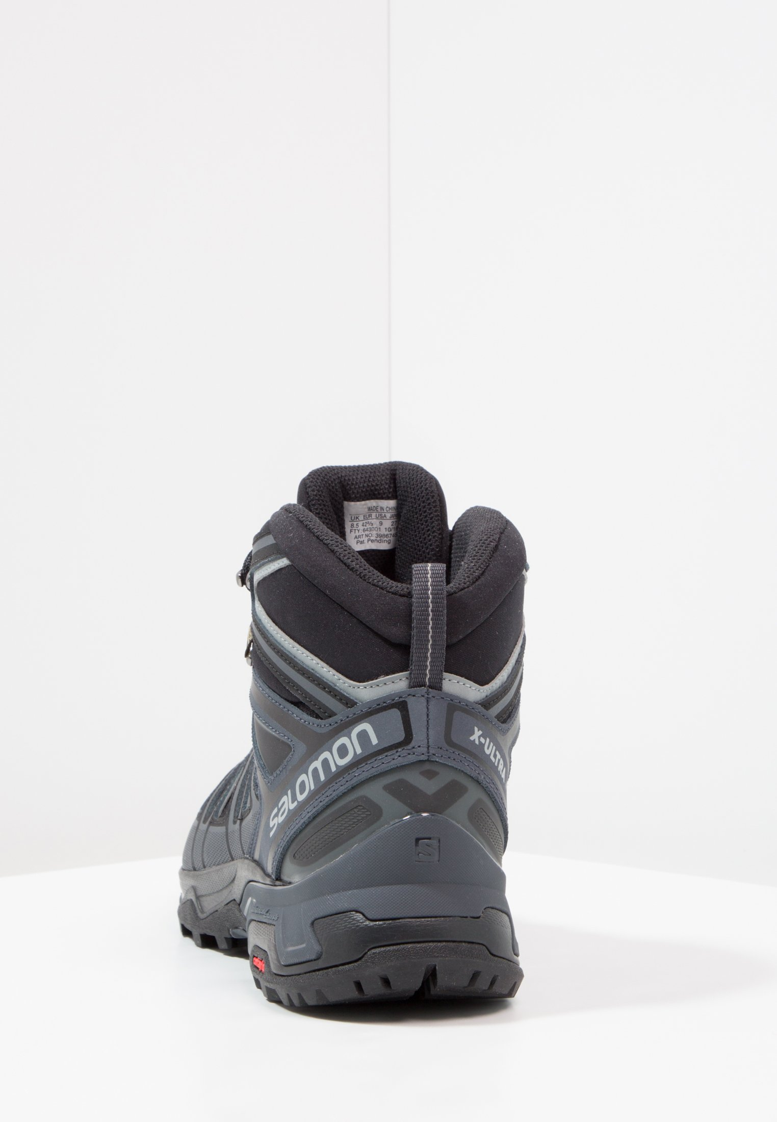 Salomon X ULTRA 3 MID GTX - Zapatillas de senderismo - black/india ink/monument