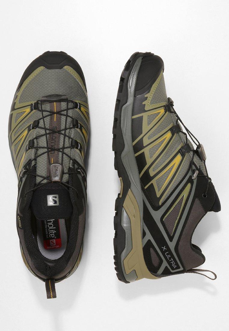 X ULTRA 3 GTX Chaussures de marche castor graybelugagreen sulphur