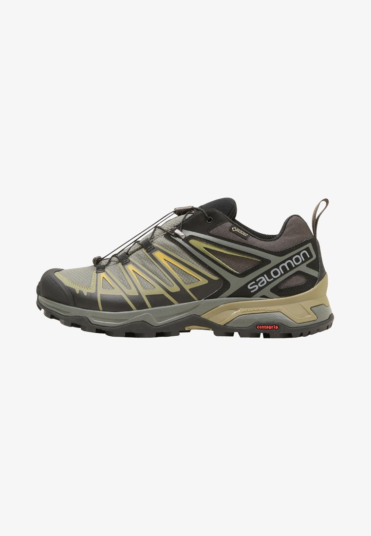 Salomon - X ULTRA 3 GTX - Hiking shoes - castor gray/beluga/green sulphur
