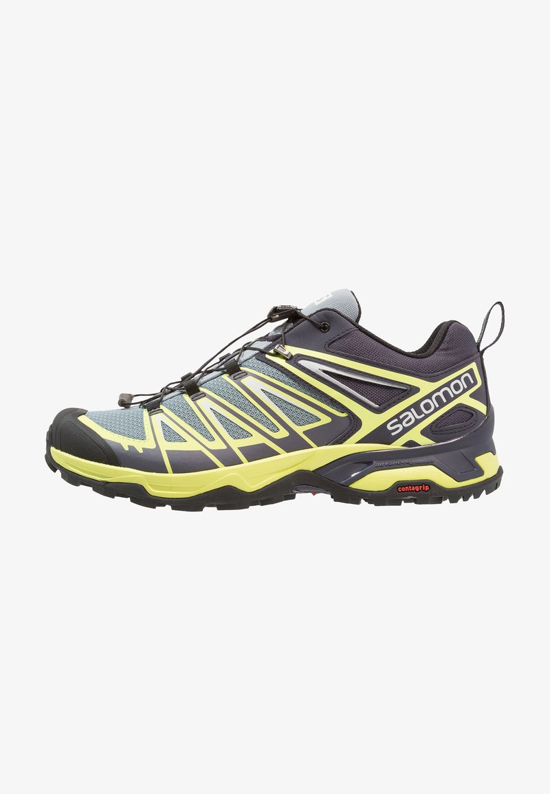 Salomon - X ULTRA 3 - Zapatillas de senderismo - lead/graphite/acid lime