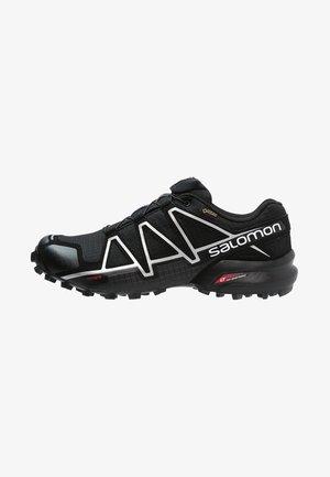 SPEEDCROSS 4 GTX - Trail running shoes - black /metallic oxide