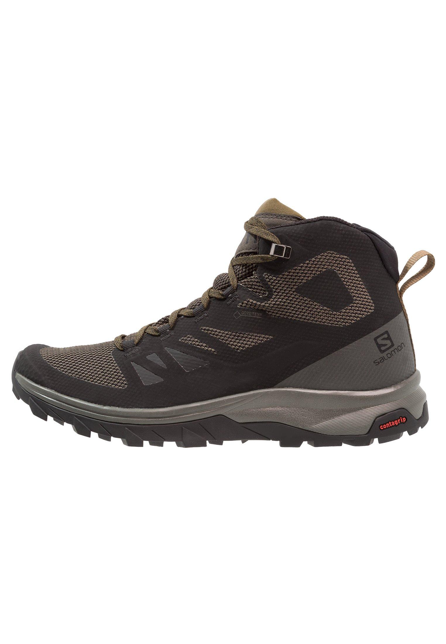 OUTLINE MID GTX Hikingskor blackbelugacapers
