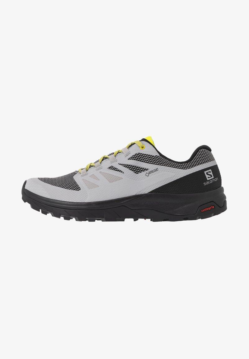 Salomon - OUTLINE GTX - Hiking shoes - alloy/black/evening primrose