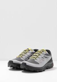 Salomon - OUTLINE GTX - Hiking shoes - alloy/black/evening primrose - 2