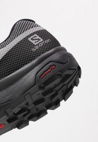 Salomon - OUTLINE GTX - Hiking shoes - alloy/black/evening primrose - 5