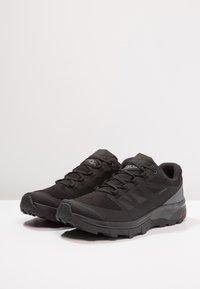 Salomon - OUTLINE GTX - Chaussures de marche - black/phantom/magnet - 2