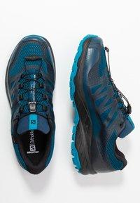 Salomon - XA DISCOVERY GTX - Obuwie do biegania Szlak - poseidon/black/fjord blue - 1