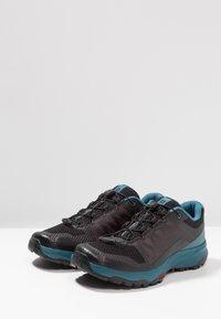 Salomon - XA DISCOVERY - Laufschuh Trail - black/mallard blue/ebony - 2
