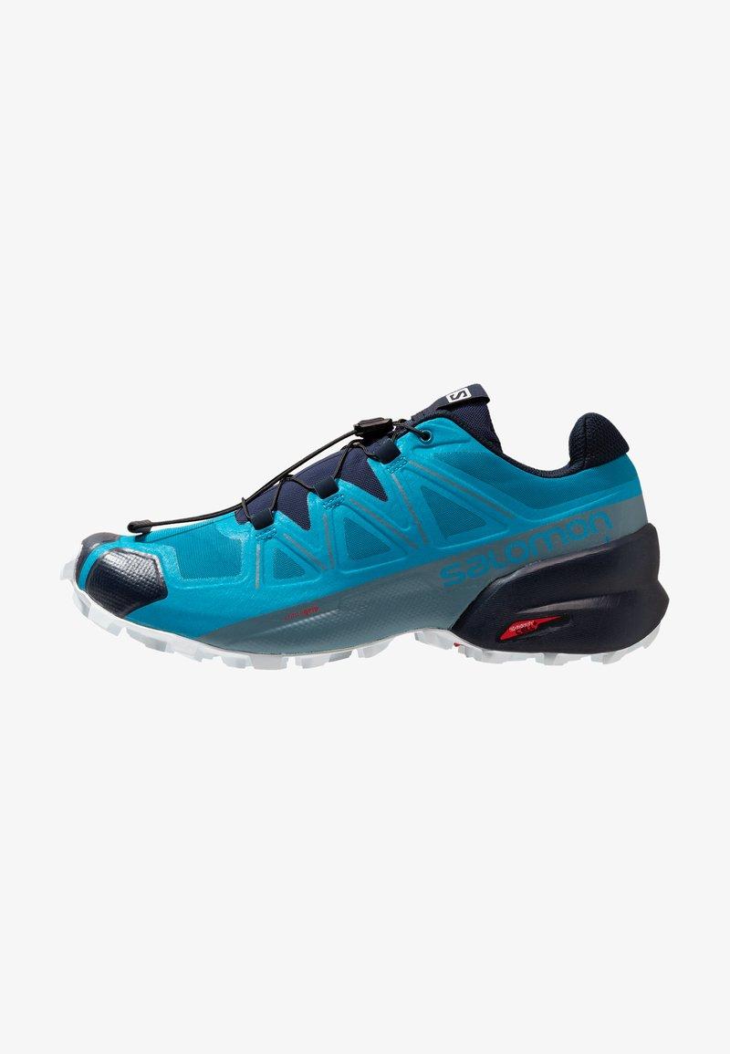 Salomon - SPEEDCROSS 5 - Trail running shoes - fjord blue/navy blazer/illusion blu