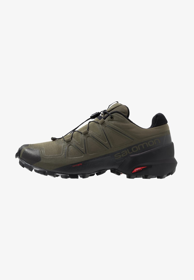 Salomon - SPEEDCROSS 5 - Løbesko trail - grape leaf/black/phantom