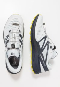 Salomon - SENSE RIDE 2 - Trail running shoes - illusion blue/navy blazer/citronelle - 1
