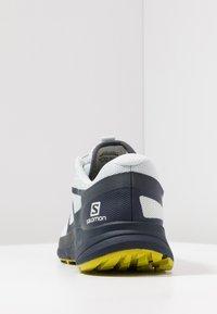 Salomon - SENSE RIDE 2 - Trail running shoes - illusion blue/navy blazer/citronelle - 3