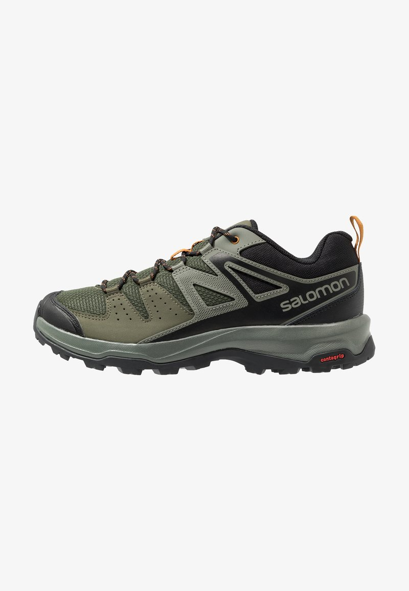 Salomon - X RADIANT - Zapatillas de senderismo - grape leaf/castor gray/cathay spice