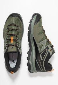 Salomon - X RADIANT - Hikingskor - grape leaf/castor gray/cathay spice - 1
