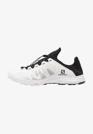 AMPHIB BOLD - Hiking shoes - white/black