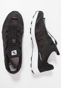 Salomon - AMPHIB BOLD - Hiking shoes - black/white - 1