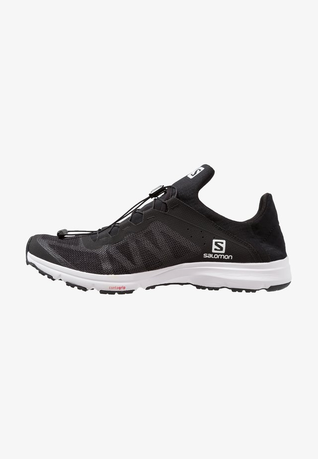 AMPHIB BOLD - Hiking shoes - black/white