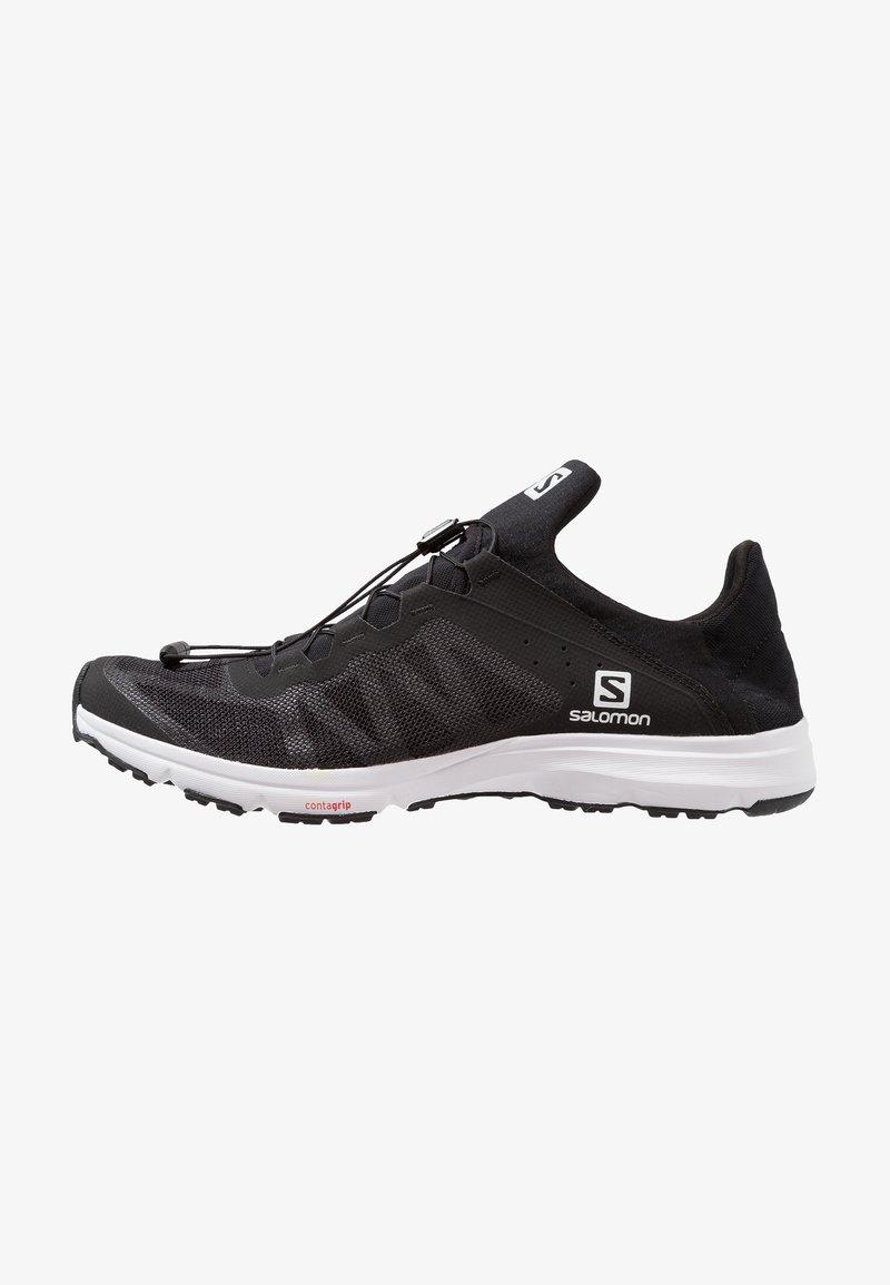 Salomon - AMPHIB BOLD - Hiking shoes - black/white