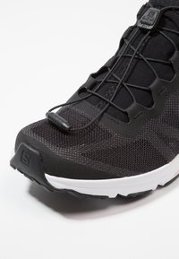 Salomon - AMPHIB BOLD - Hiking shoes - black/white - 5