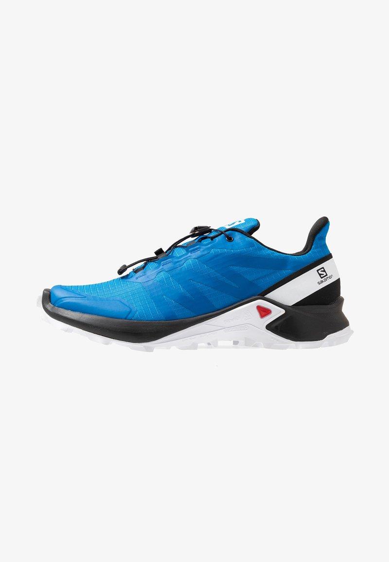 Salomon - SUPERCROSS MEN - Běžecké boty do terénu - indigo bouting/ black/ white