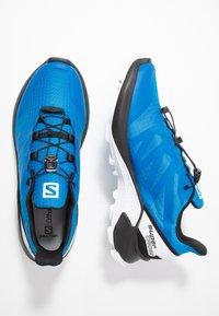 Salomon - SUPERCROSS MEN - Běžecké boty do terénu - indigo bouting/ black/ white - 1