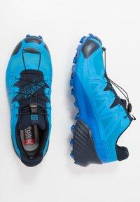 Salomon - SPEEDCROSS 5 GTX - Obuwie do biegania Szlak - blue aster/lapis blue/navy blazer - 1