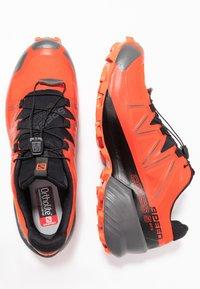 Salomon - SPEEDCROSS 5 GTX - Zapatillas de trail running - valiant poppy/black/cherry tomato - 1