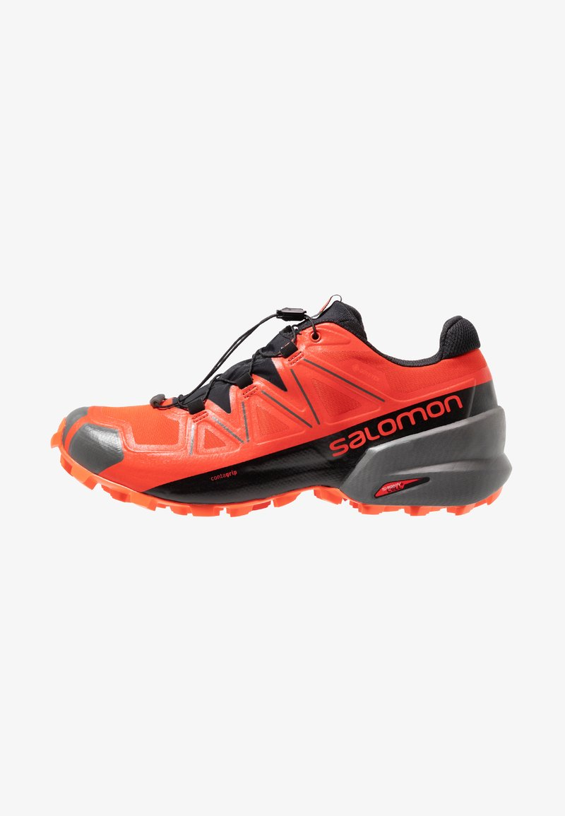 Salomon - SPEEDCROSS 5 GTX - Scarpe da trail running - valiant poppy/black/cherry tomato