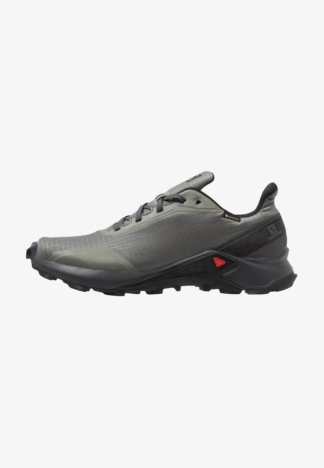 ALPHACROSS GTX - Trail running shoes - castor gray/ebony/black