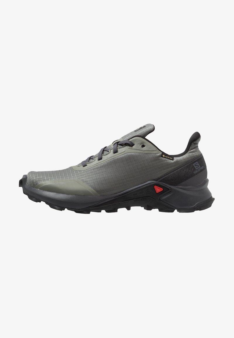 Salomon - ALPHACROSS GTX - Zapatillas de trail running - castor gray/ebony/black