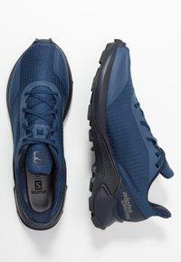 Salomon - ALPHACROSS - Zapatillas de trail running - sargasso sea/navy blazer/india ink - 1
