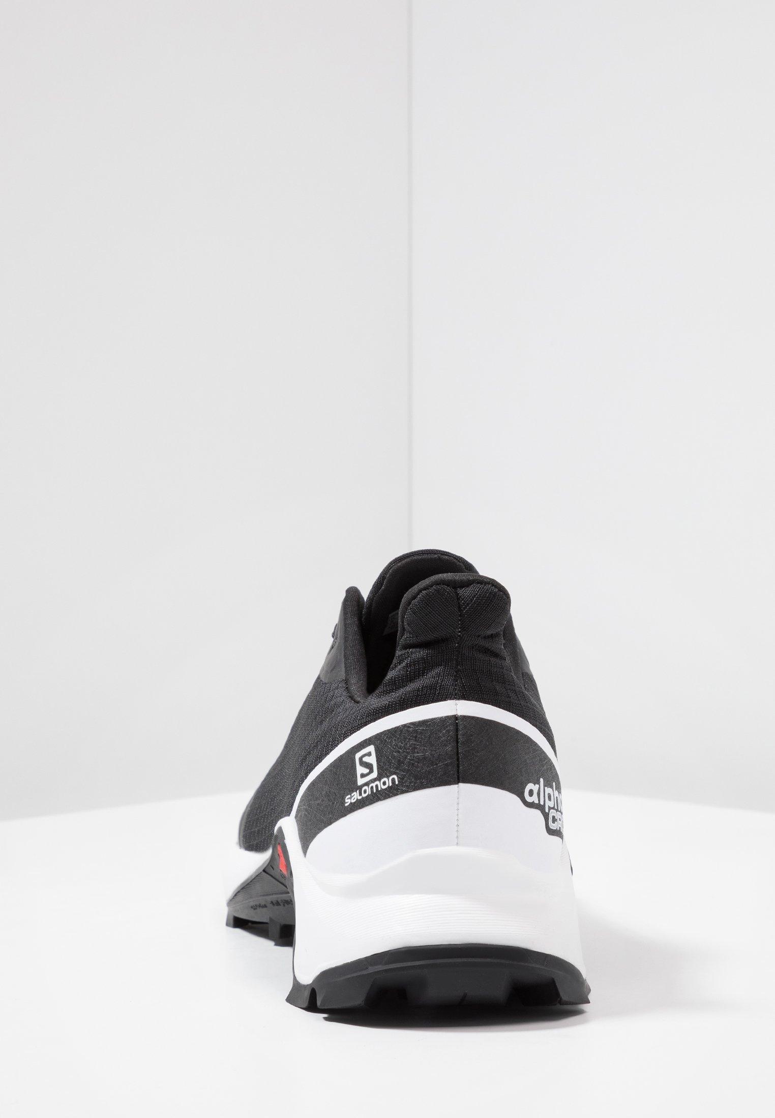 Salomon ALPHACROSS - Chaussures de running - black/white/monument