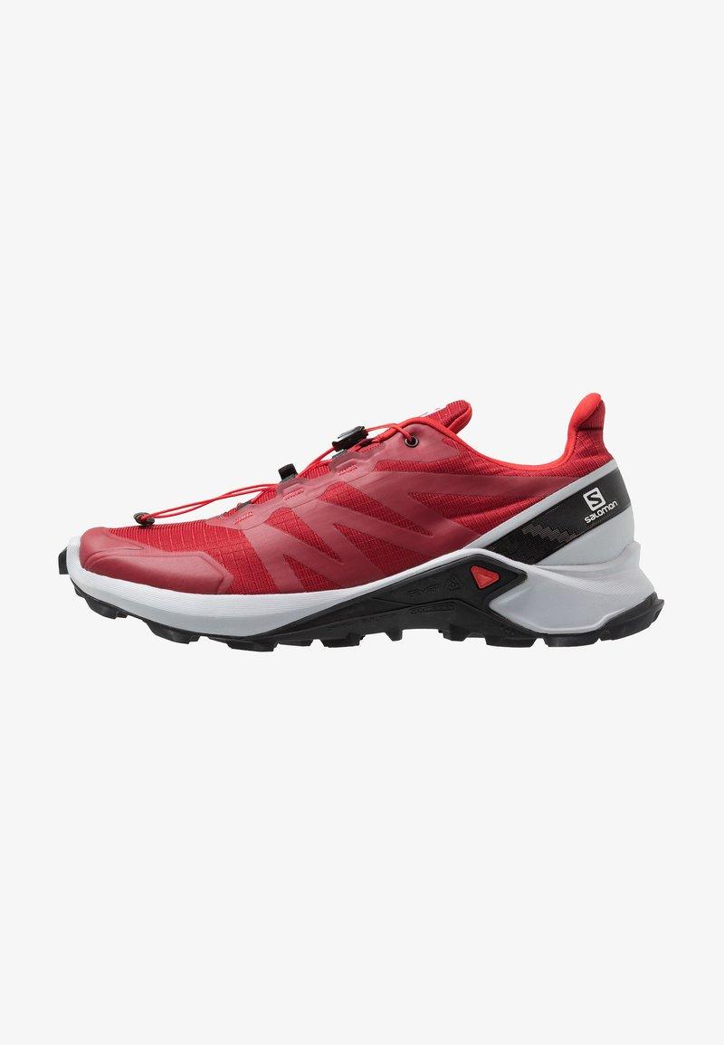 Salomon black Red Running SupercrossChaussures De Blue Dahlia pearl nvN80mw