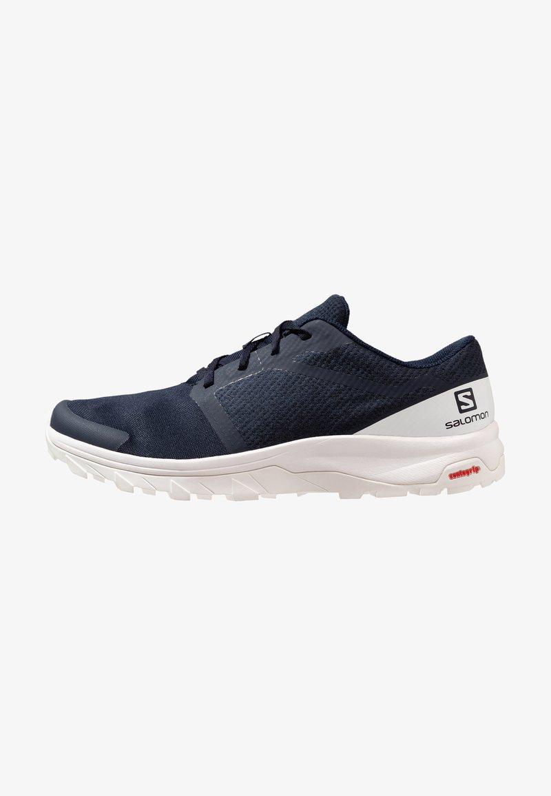 Salomon - OUTBOUND - Hiking shoes - navy blazer/white