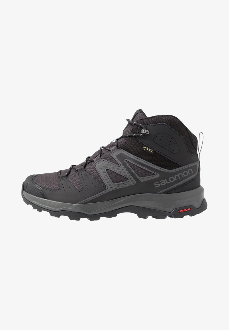 Salomon - RADIANT MID GTX - Hiking shoes - phantom/magnet/monument