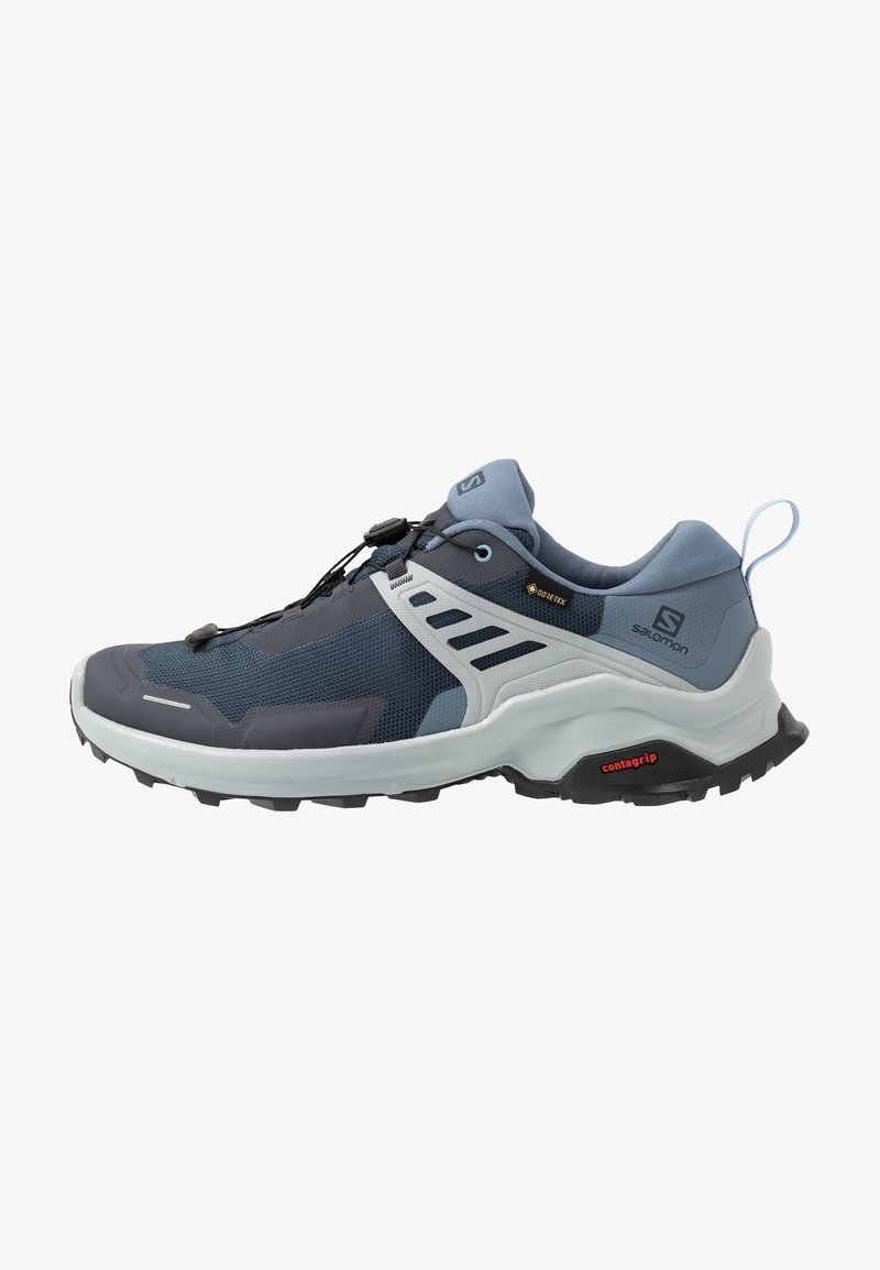 Salomon - X RAISE GTX - Hiking shoes - india ink/flint stone/quarry