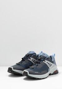 Salomon - X RAISE GTX - Hiking shoes - india ink/flint stone/quarry - 2