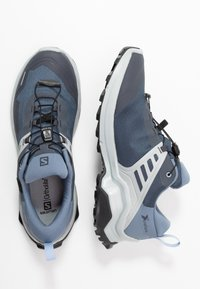 Salomon - X RAISE GTX - Hiking shoes - india ink/flint stone/quarry - 1