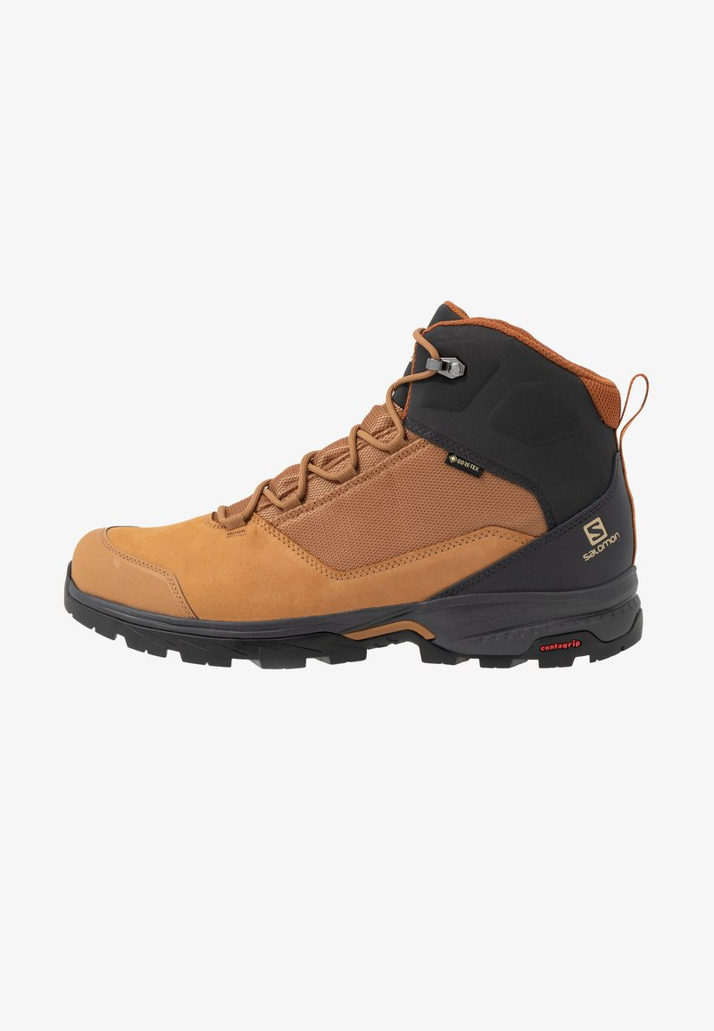 Salomon - OUTWARD GTX - Buty trekkingowe - tobacco brown/phantom/caramel cafe